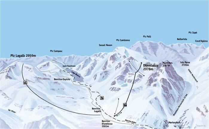 pontresina ski resort guide lagenkarte pontresina ski urlaub unterkunft. Black Bedroom Furniture Sets. Home Design Ideas