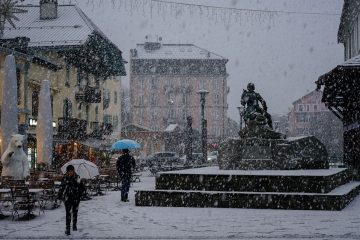 Heavy Snowfall Returns to the Alps